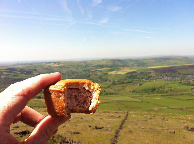 Simon Wheatley pork pie rock formation from Flickr