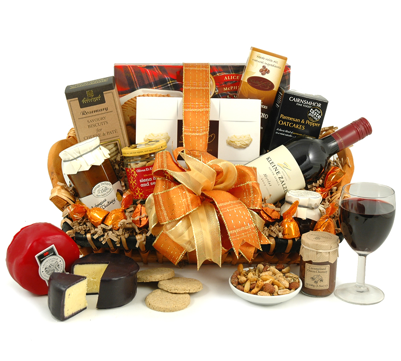 Wine and Cheese Feast Hamper from Hampergifts.co.uk
