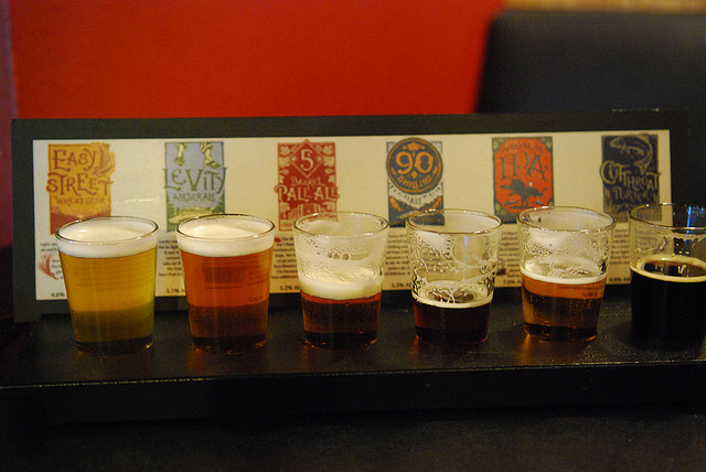 Image from Flickr Quan Ha Typical beer tasting