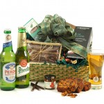 Continental beer hamper from Hampergifts