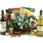 The luxury Christmas Wine hamper is a bestseller