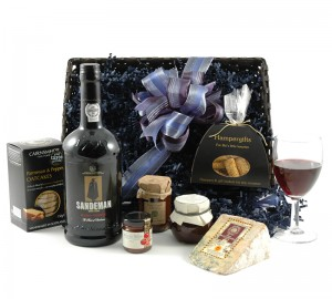 Luxury Port and Stilton Hamper