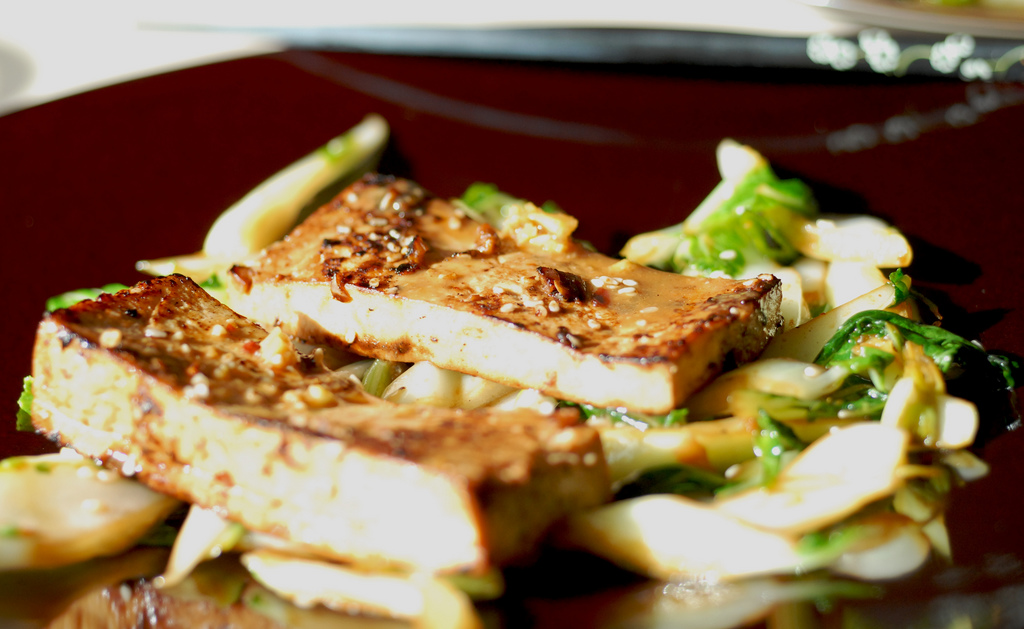 bok choy and tofu recipe