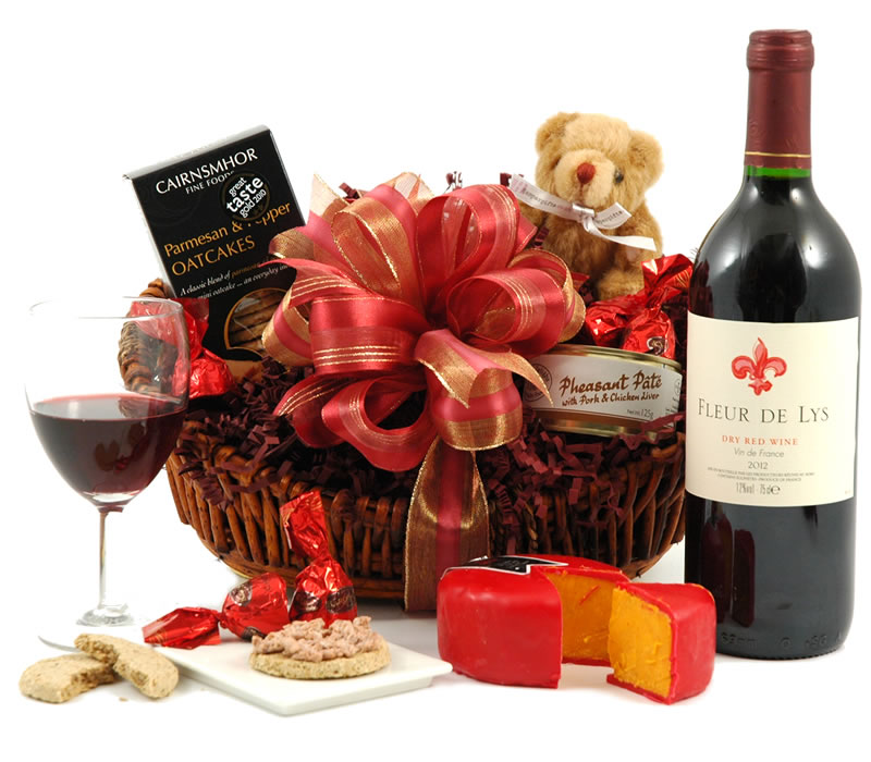 Win A Cheese and Wine Hamper