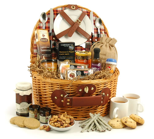 fall picnic hamper for two