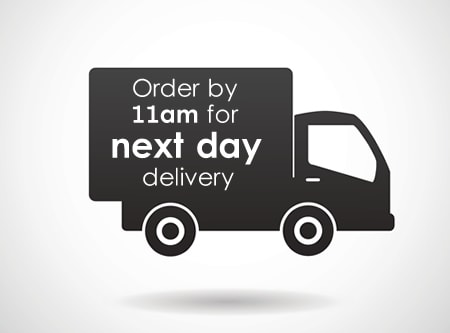 Order by 11am for Next Day Delivery