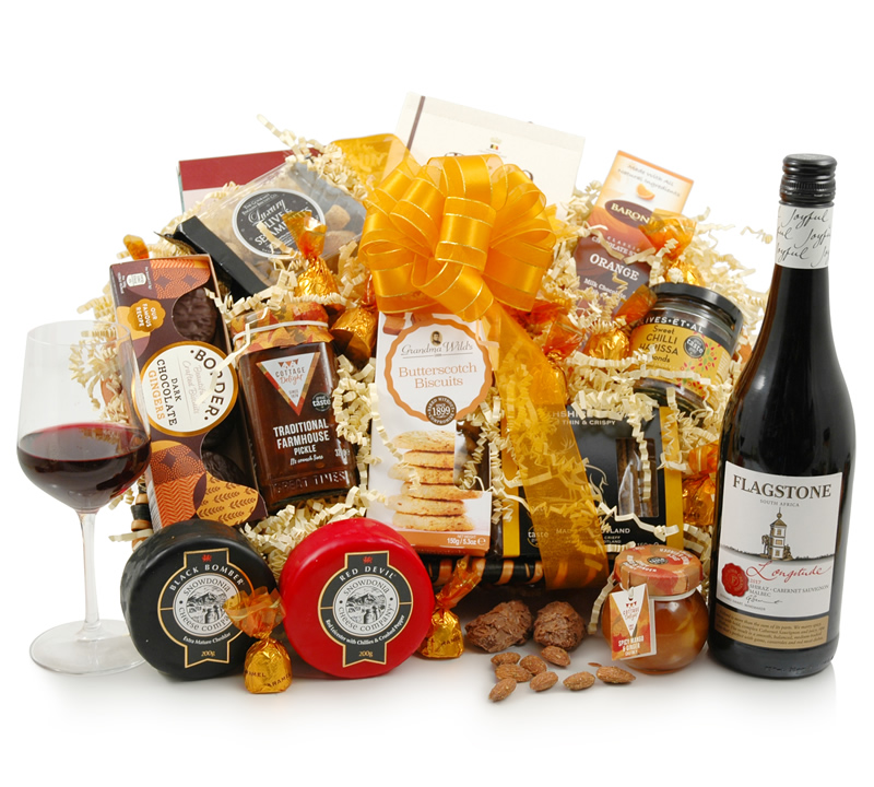 Image of Cheese & Wine Delight