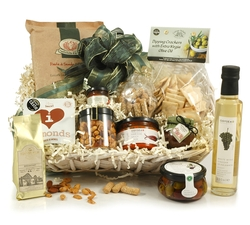 Food Hampers & Baskets - Hampers & Gifts from Hampergifts.co.uk - Savoury Heaven Food Hamper