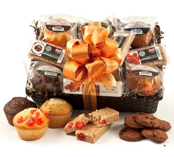 Muffins & Cookies | Muffin Hampers | Muffin Gifts - Muffins, Cookies & Flapjack Selection