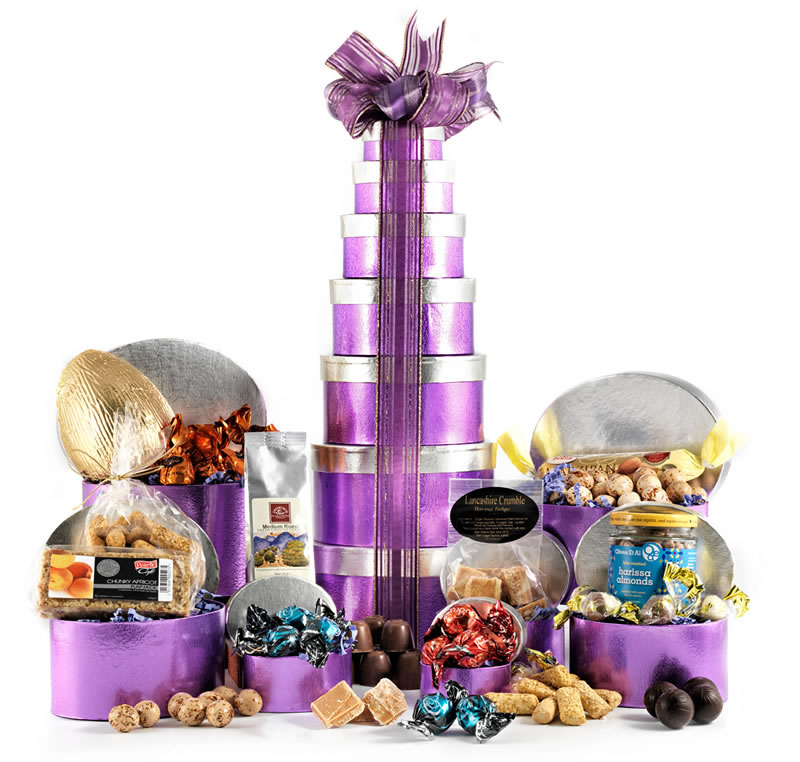 Click to view product details and reviews for Easter Chocolate Tower Hamper.