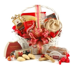 Chocolate Hampers & Gifts - Hampergifts.co.uk - Festive Chocs & Cookies