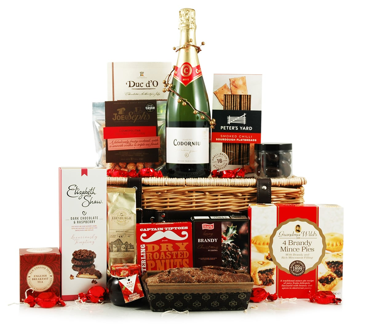Christmas Cheer | Red & White Wine Hamper