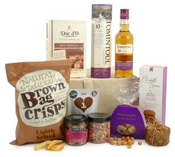 Vegetarian Hampers: Hampers & Gift Baskets from Hampergifts.co.uk - Wonderful Whisky Hamper