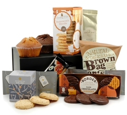 Food Hampers & Baskets - Hampers & Gifts from Hampergifts.co.uk - Tea & Coffee Break Hamper