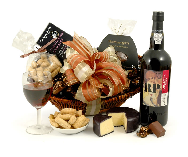Image of Cheese & Port Choice Hamper