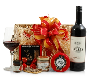 Cheese Hampers | Cheese Gifts | Cheese & Wine Hampers - Wine, Cheese & Pate