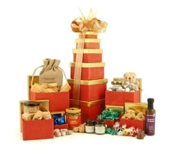 Food Hampers & Baskets - Hampers & Gifts from Hampergifts.co.uk - Luxury Food Tower