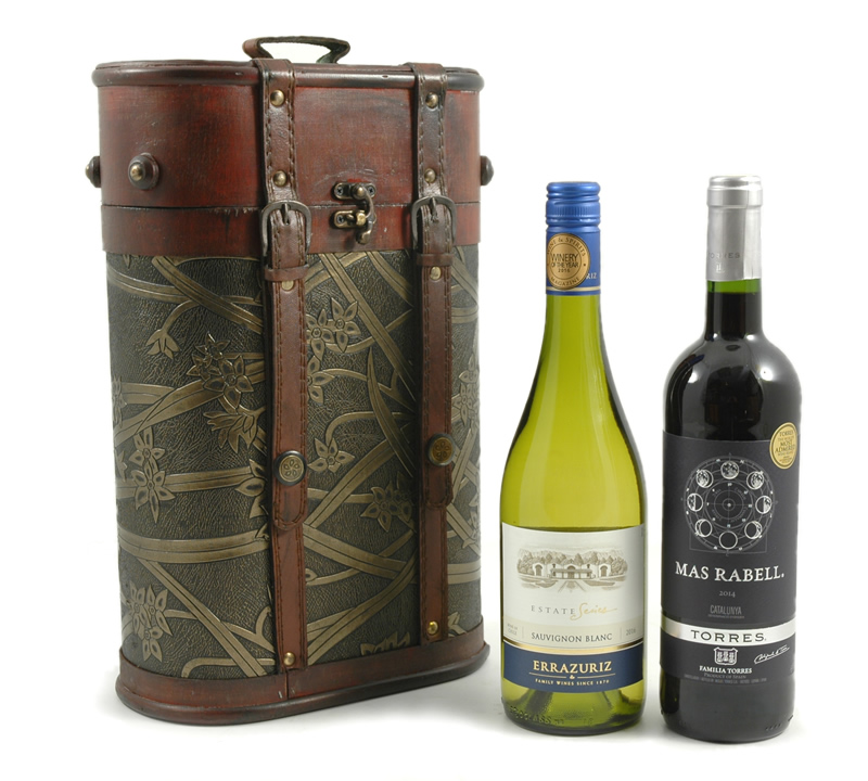 Hampers Double Wine Gift Box