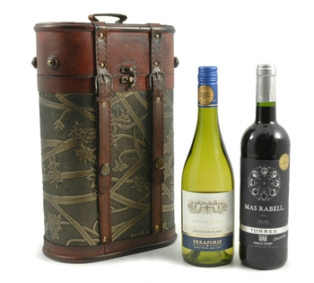 Christmas Hampers | Xmas Hampers | Christmas Gift Ideas - Double Wine Gift Box
