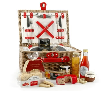 Luxury Hampers | Luxury Gift Baskets | Gourmet Treats - Chiller Picnic Hamper for Two