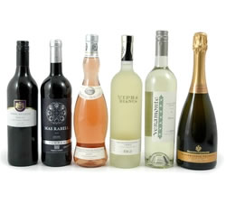 Wine Gift Boxes: from Hampergifts.co.uk - The Connoisseurs Six