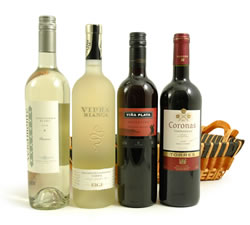Wine Gift Boxes: from Hampergifts.co.uk - Old and New World Selection