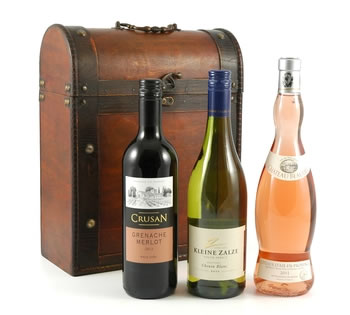Christmas Hampers | Xmas Hampers | Christmas Gift Ideas - Triple Wine Chest