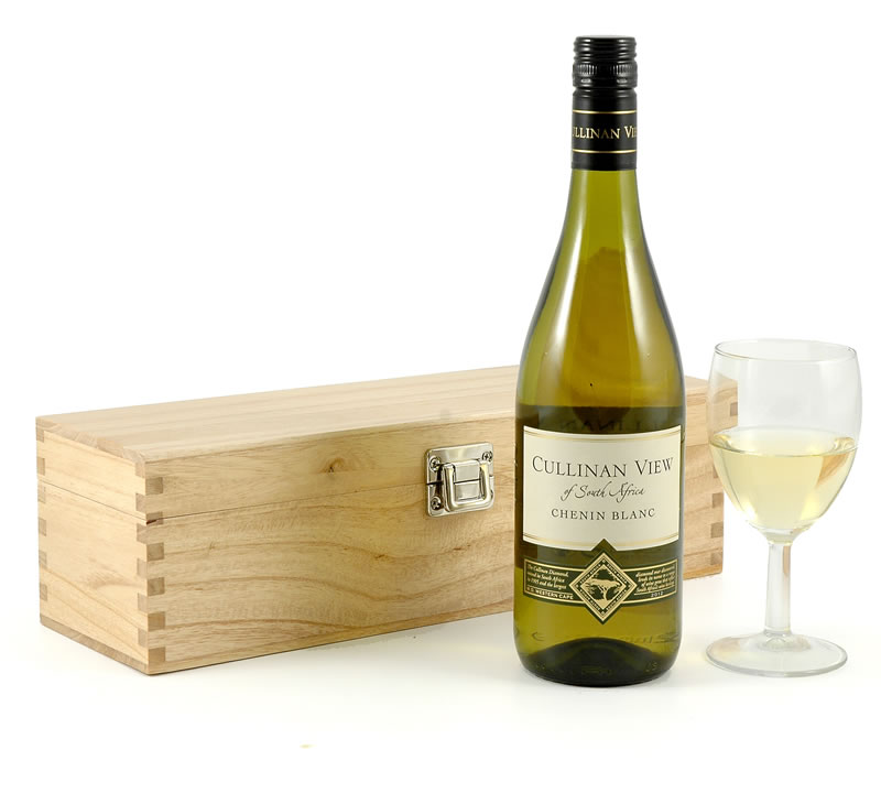 White Wine | Chenin Blanc in Pine Gift Box