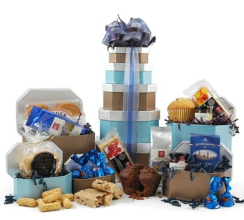 Muffins & Cookies | Muffin Hampers | Muffin Gifts - Tea & Coffee Break Tower