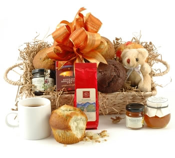 Valentines Hampers | Valentines Gift Basket - Breakfast For Two