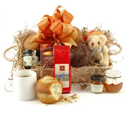 Vegetarian Hampers: Hampers & Gift Baskets from Hampergifts.co.uk - Breakfast For Two