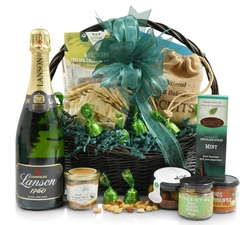 Congratulations Hampers & Gift Baskets from Hampergifts.co.uk - Champagne & Gourmet Food Gift