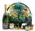 Champagne & Gourmet Food Basket with Lanson