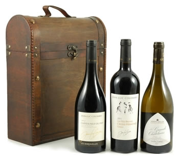 Christmas Hampers | Xmas Hampers | Christmas Gift Ideas - Fine Wine French Trio