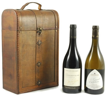 Christmas Hampers | Xmas Hampers | Christmas Gift Ideas - Chateauneuf Du Pape & Sancerre