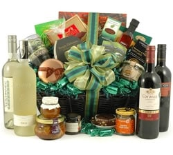 Food Hampers & Baskets - Hampers & Gifts from Hampergifts.co.uk - The Grande