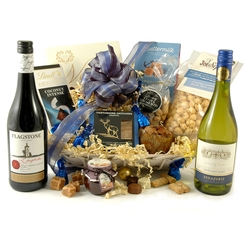 The Sapphire | Luxury Red & White Wine Hamper