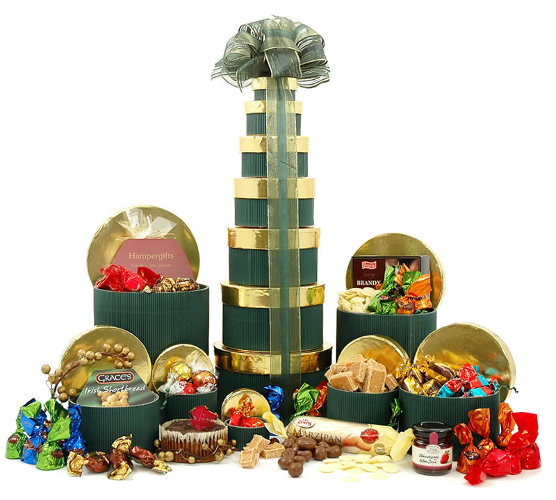 Christmas Treats Tower