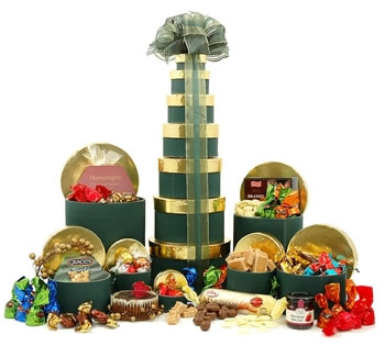 Christmas Hampers | Xmas Hampers | Christmas Gift Ideas - Christmas Treats Tower