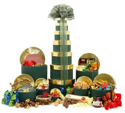 Chocolate Hampers & Gifts - Hampergifts.co.uk - Christmas Treats Tower