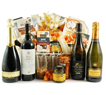 Luxury Hampers | Luxury Gift Baskets | Gourmet Treats - The Excelsior
