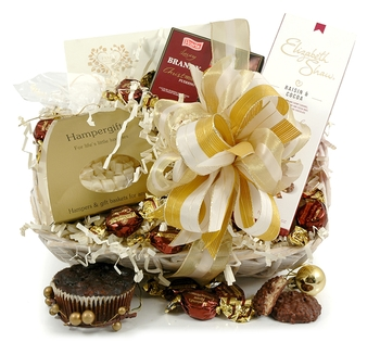 Christmas Hampers | Xmas Hampers | Christmas Gift Ideas - Golden Choc Basket