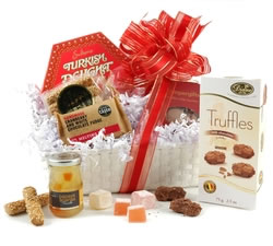 Christmas Hampers & Xmas Hampers - Hampergifts.co.uk - Snowy Delights