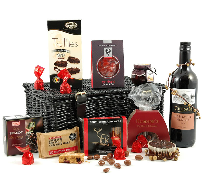 Christmas Tidings Red Wine Hamper