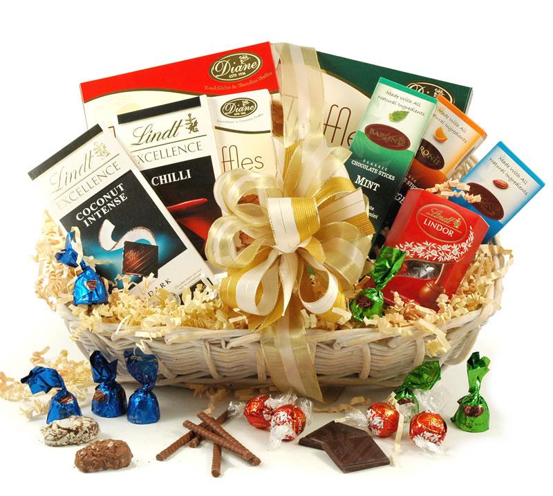 Image of Belgian & Swiss Chocolate Selection