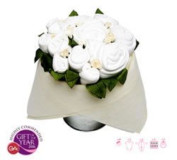 Flower Pail Classic White