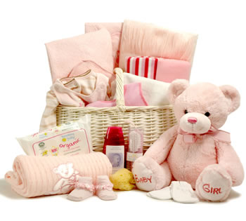 Deluxe Baby Hamper (Girl)
