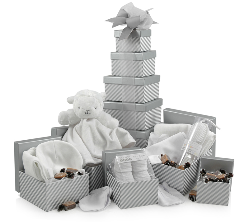 Newborn Welcome Tower | 5-Tier Gift Tower