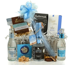 Gin & Treats Gift Basket