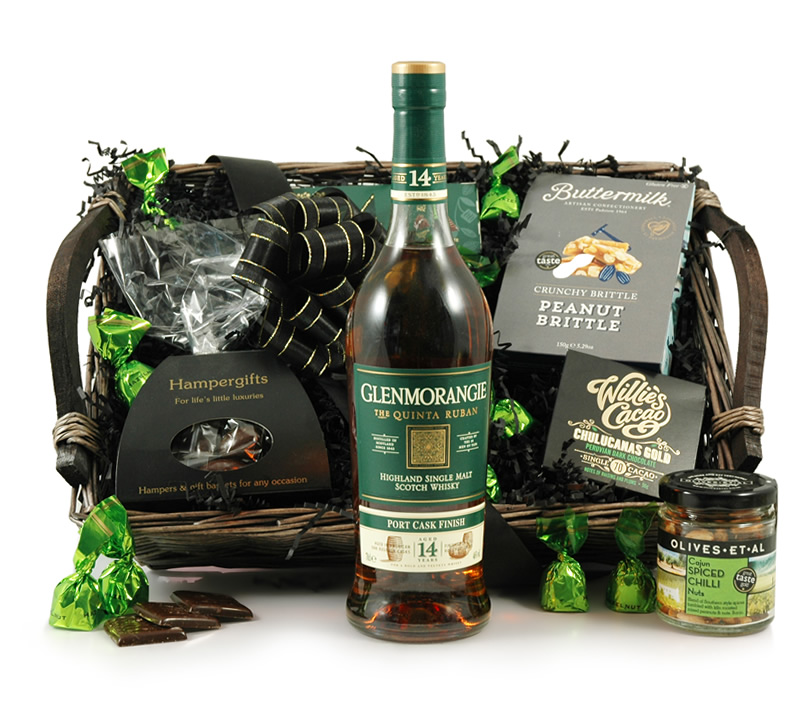 Glenmorangie 12 Year Old Scotch Whisky Hamper